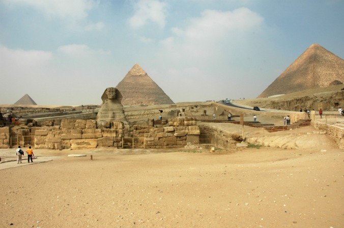Sphinx and pyramids at Giza RBP