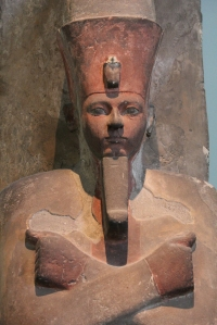 Osiride statue of Amenhotep I at the British Museum by Sarah Griffiths