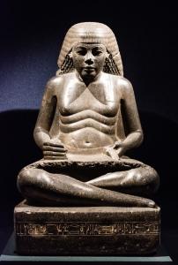 Scribal Statue of Amenhotep, Son of Hapu by Chris Marriott